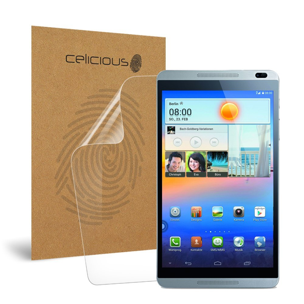 Celicious Impact Anti-Shock Shatterproof Screen Protector Film Compatible with Huawei MediaPad M1 8.0