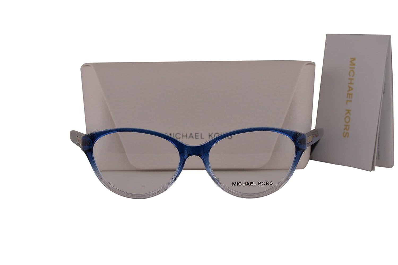 23b6c1c429c Michael Kors MK8021 Mitzi VI Eyeglasses 50-15-135 Blue Clear Gradient 3122  MK 8021  Amazon.co.uk  Clothing