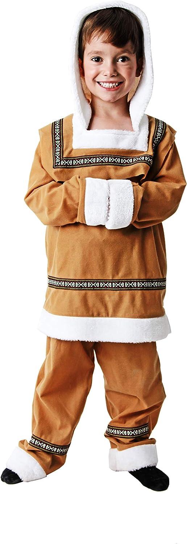 Costumizate! Disfraz de Esquimal Talla 7-9 Especial para niños ...