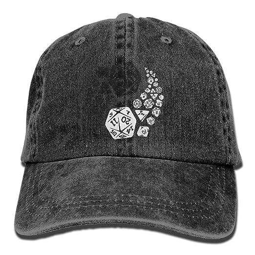 9e6b7c62153 Dungeons And Dragons Yin Yang Baseball Hat Men And Women Summer Sun Hat  Travel Sunscreen Cap Fishing Outdoors at Amazon Men s Clothing store