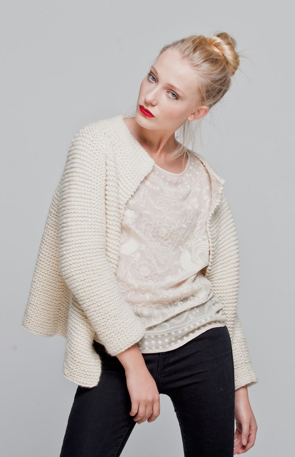We are Knitters - Intermediate Level Knitting Kit - Martina Cardigan by We Are Knitters (Image #1)