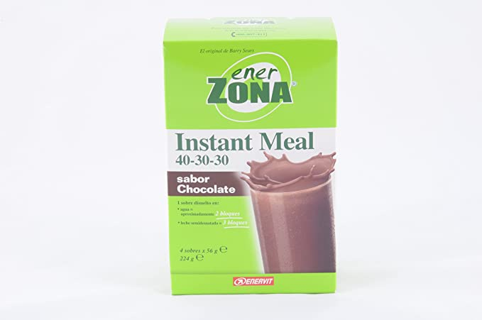 Instant Meal Chocolate Enerzona 4X56G