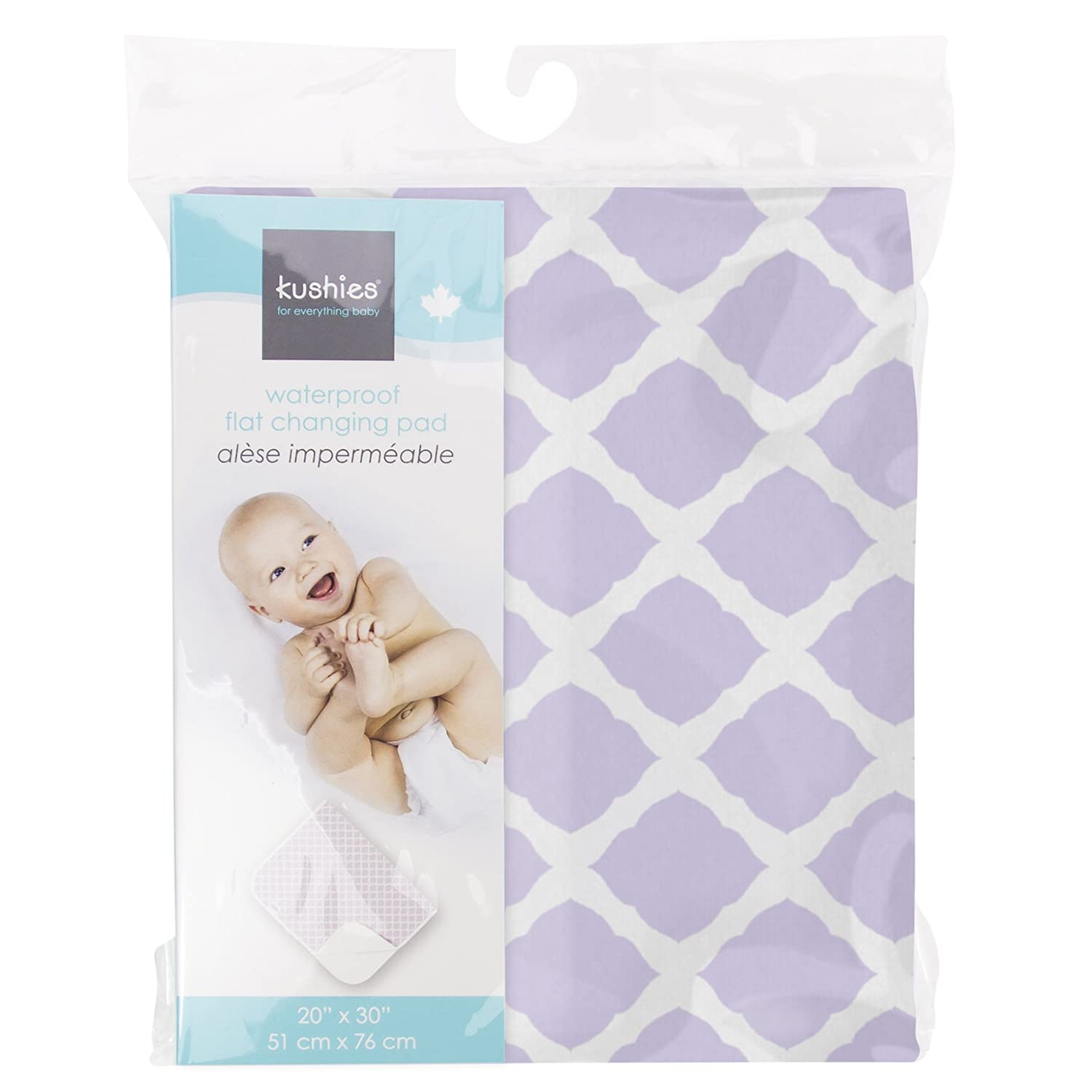 Pink Kushies P210-PNK Deluxe Flannel Change Pad