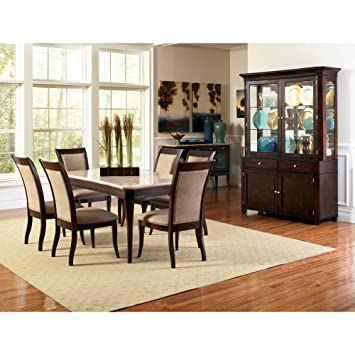 steve silver marseille side dining chairs dark cherry set of 2 - Steve Silver Furniture