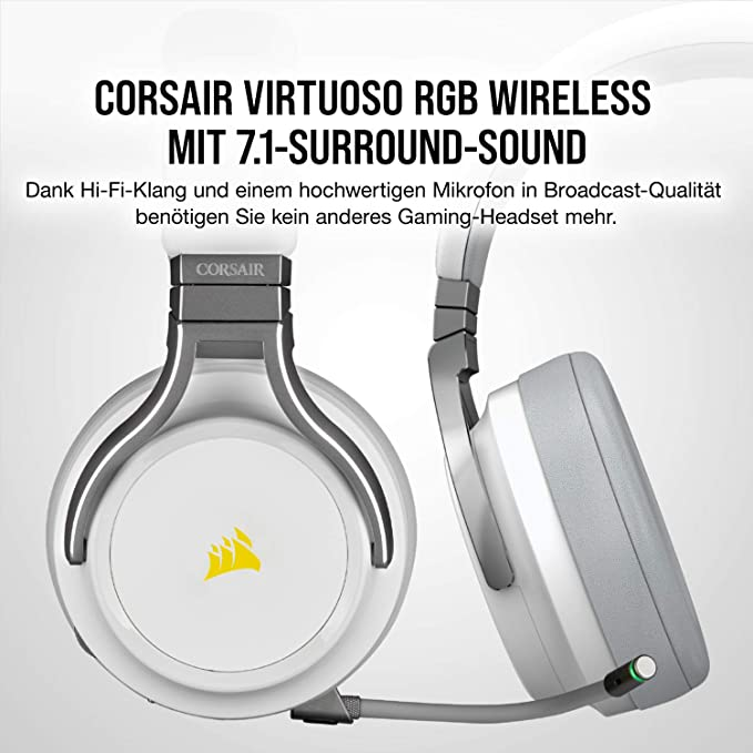 Corsair Virtuoso Rgb Wireless High Fidelity Gaming Computers Accessories
