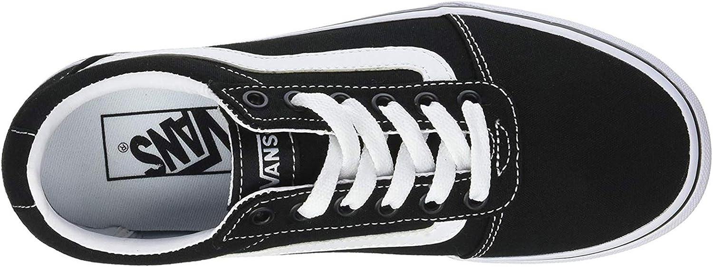 Vans Women's Low-Top Sneakers Black White