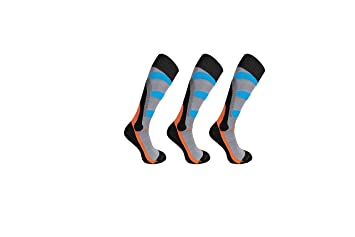 Calcetines BRUBECK® SET / 3x BSK001 + UP® original ULTRAPOWER Pañuelo multifunción, calcetines