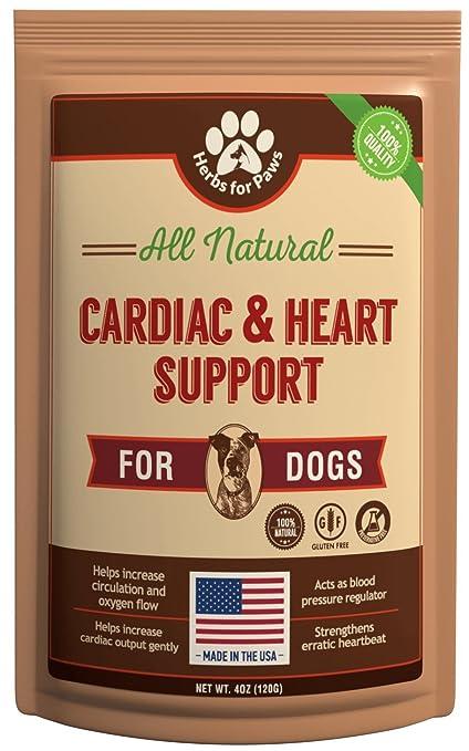 Amazoncom Dog Cardio Strength Heart Murmur Hawthorn Supplement