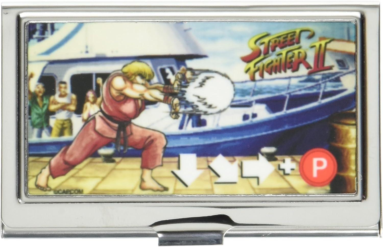 Street Fighter II Ken Masters Fireball Buckle-Down Business Card Holder Small
