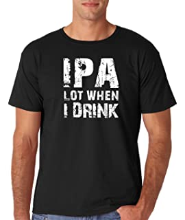 Beer In Up Arrow Out Down Pee Bathroom Party Drunk Put College Go Men/'s T-Shirt