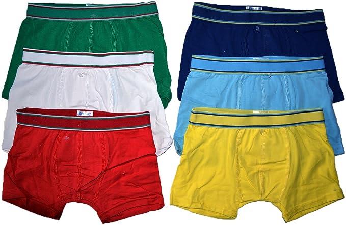 6 Pack Kids – Calzoncillos para niño Uni Calzoncillo Tipo bóxer ...