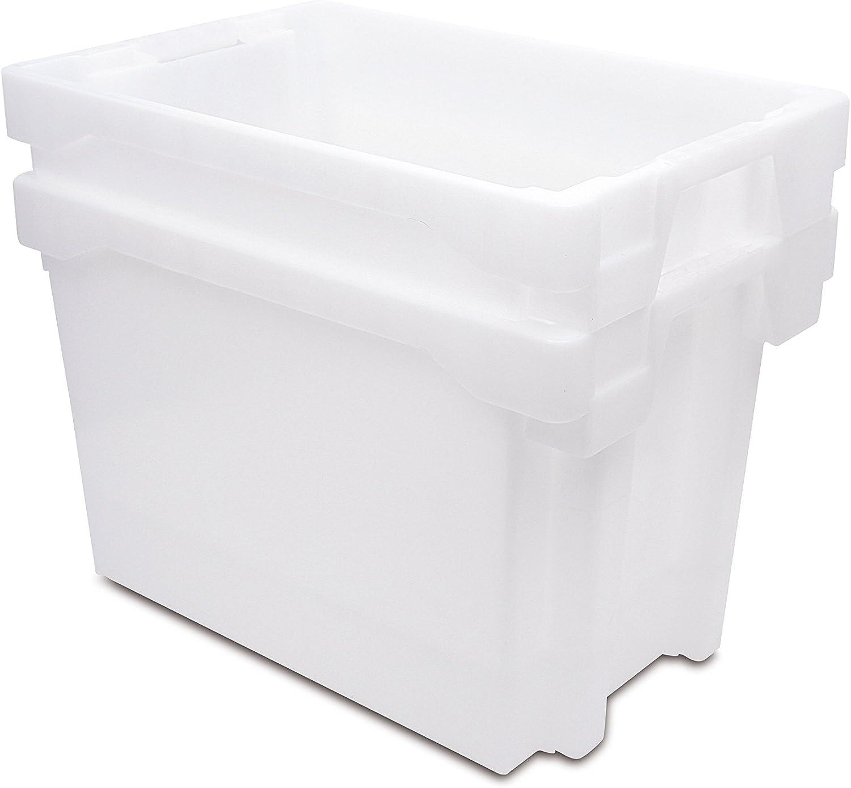 Tayg Euro-caja para almacén y transporte 6420, Azul, 600 x 400 x ...