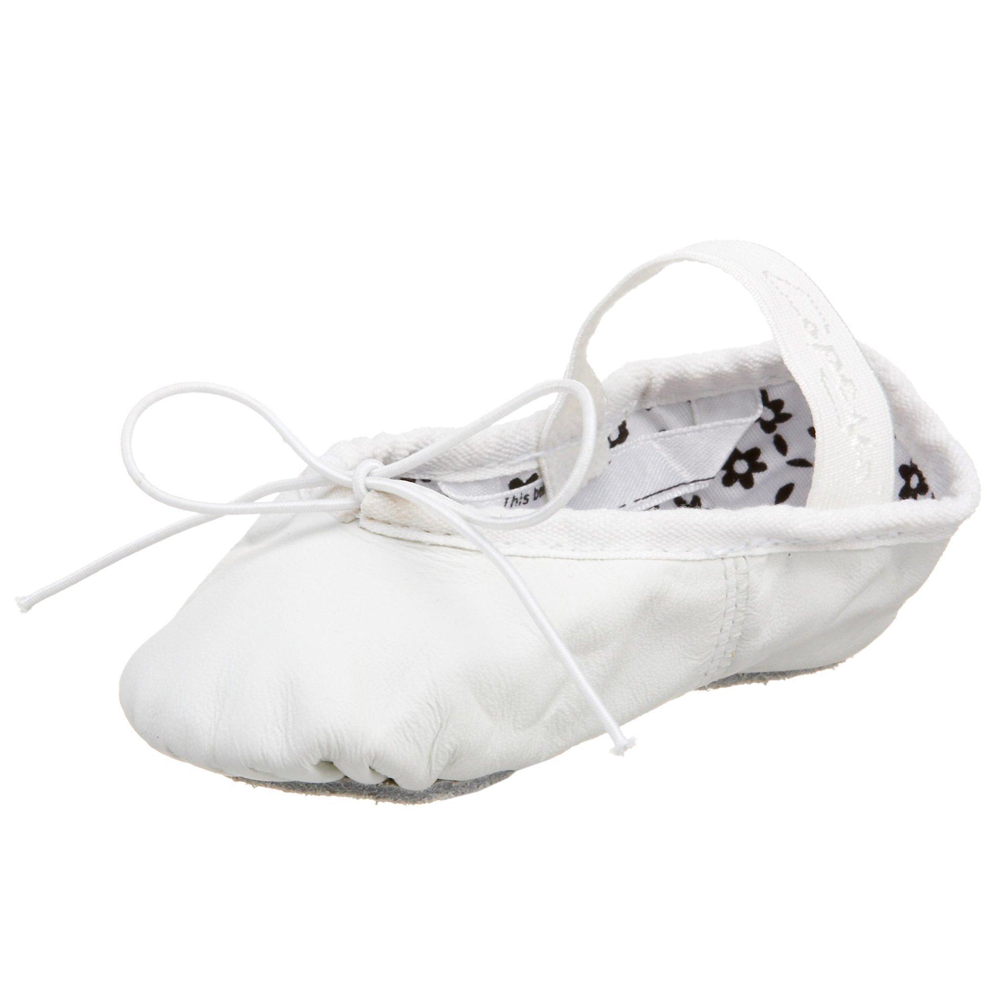 Capezio Daisy 205 Ballet Shoe (Toddler/Little Kid),White,9 M US Toddler