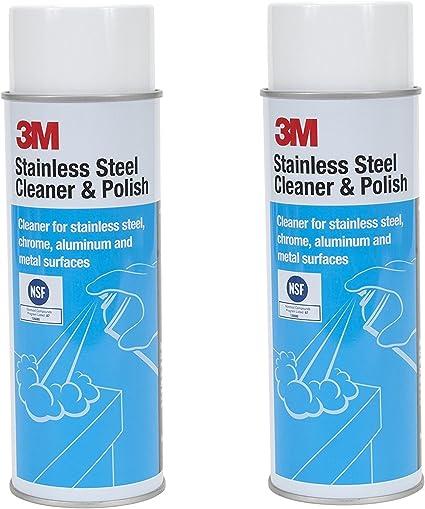 Amazon.com: 3M 14002 - Limpiador y abrillantador de acero ...