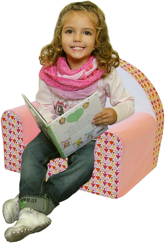 Bubaba Tema:Giraffe 12 design differenti gommapiuma duratura super leggera prodotta in EU Sedia per bambini