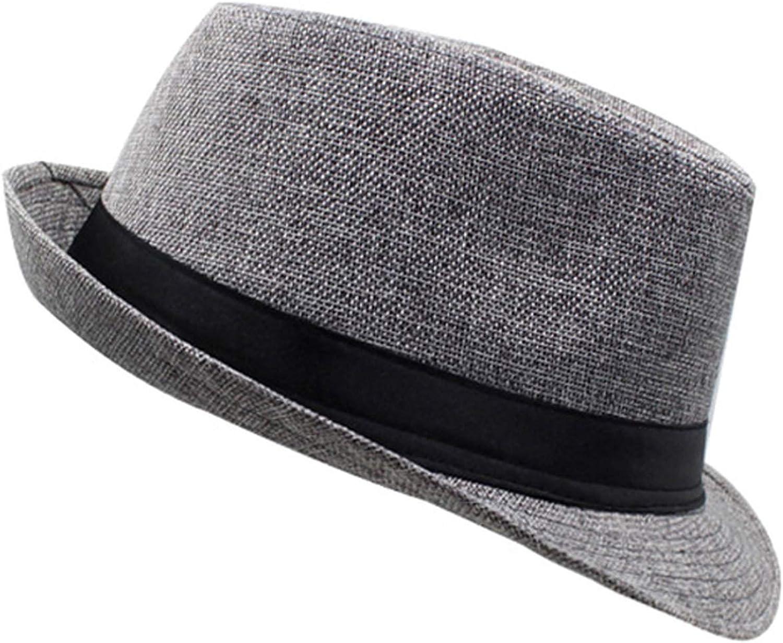 Mens Fedoras Hats Jazz Hat Panama Cap DOSOMI
