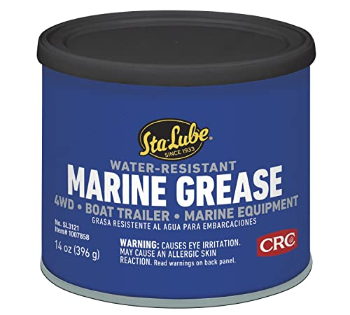 Sta-Lube SL3121 Marine Boat Trailer and 4x4 Wheel Bearing Grease