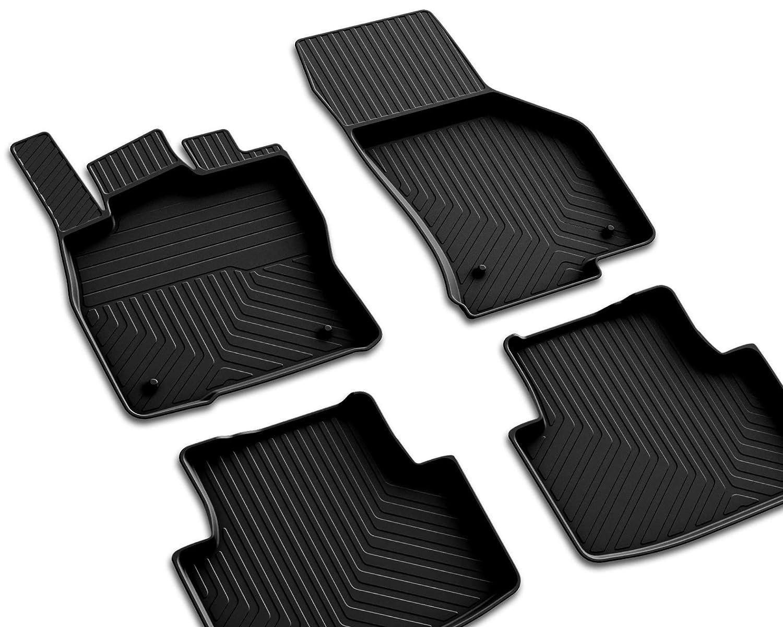 Hochwertige Gummifußmatten für Dacia Lodgy ab 2012-4tlg