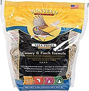 Sunseed Company Vita Prima Canary Finch Formula Pet Accessories 2 Pounds