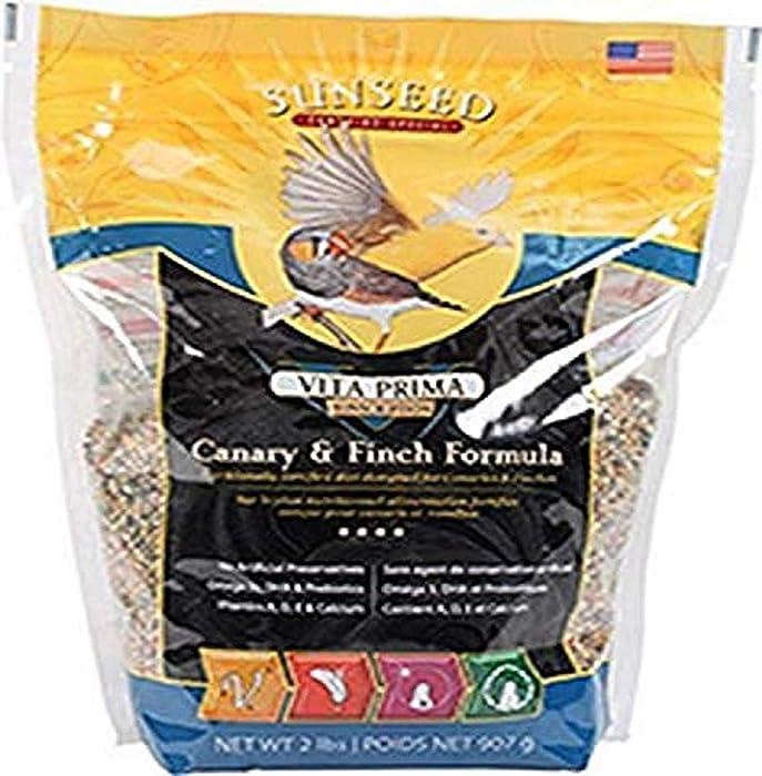 Sunseed Company Vita Prima Canary Finch Formula Pet Accessories 2 Pounds