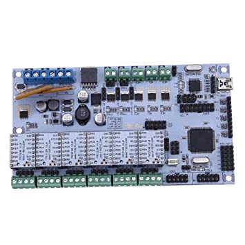 Asiproper 3D Printer Rumba Board With 6pcs TMC2130 Stepper Driver +