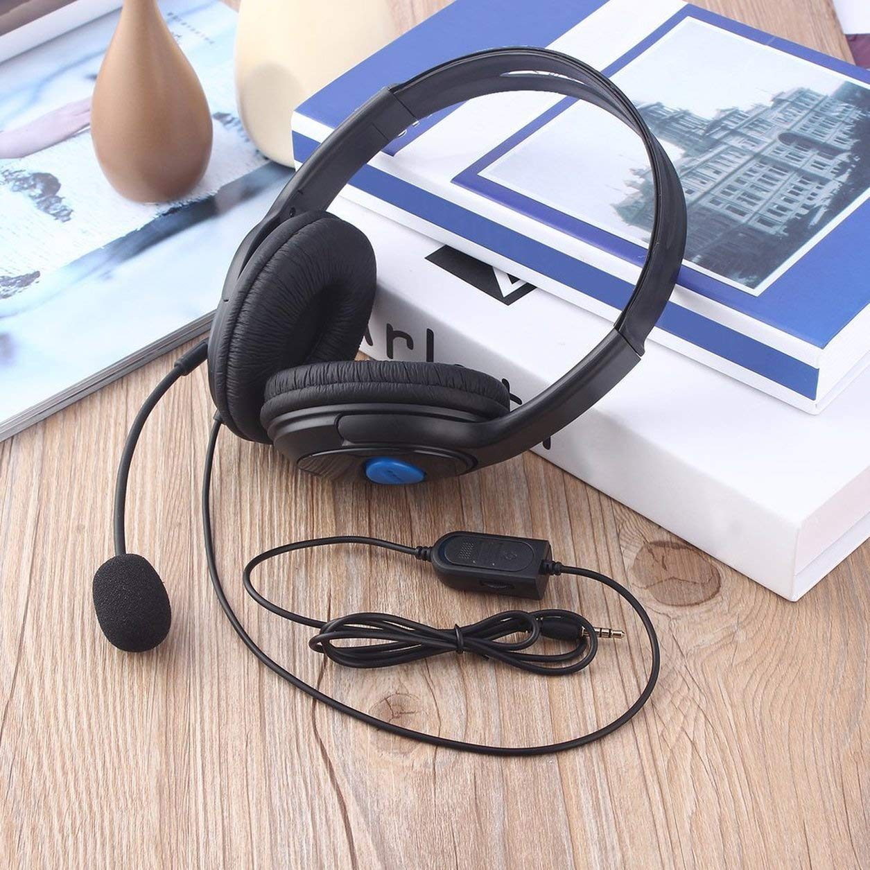 Wired Gaming Headset Headphones with Microphone for Sony PS4 Playstation 4 Dailyinshop
