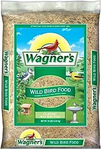 Wagner's 52002 Classic Blend Wild Bird Food, 10-Pound Bag