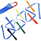Walking Rope For Preschool - Colorful handles Keeps Kids Safe - Perfect for Daycare Schools and Teachers. (12 Loops)