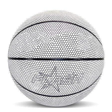 Fnsky - Balón de Baloncesto holográfico Brillante con luz, Juego ...