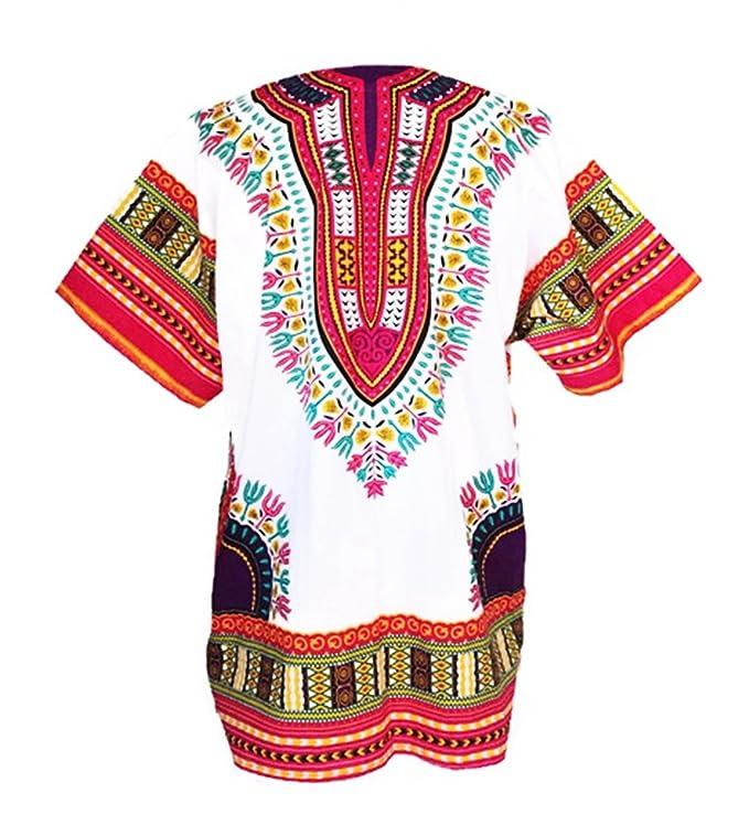 0888d6f61ad Amazon.com  Dashiki Shirt African Top Clothing Kaftan …  Clothing