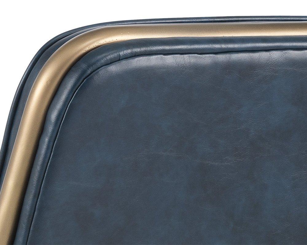 Sunpan Modern Chair, Blue by Sunpan Modern