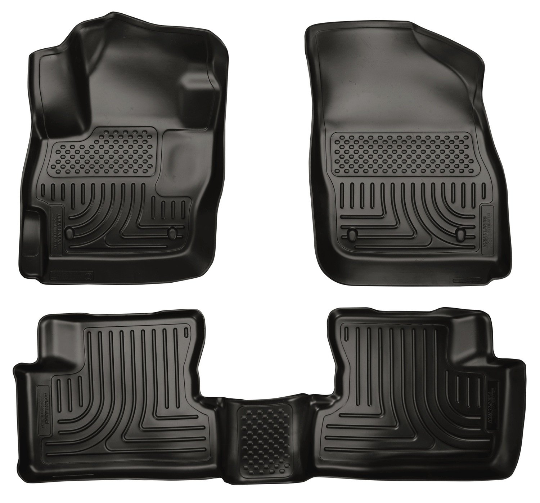 Floor mats mazda 3 - Amazon Com Husky Liners Front 2nd Seat Floor Liners Fits 10 13 Mazda 3 Hatchback Sedan Automotive