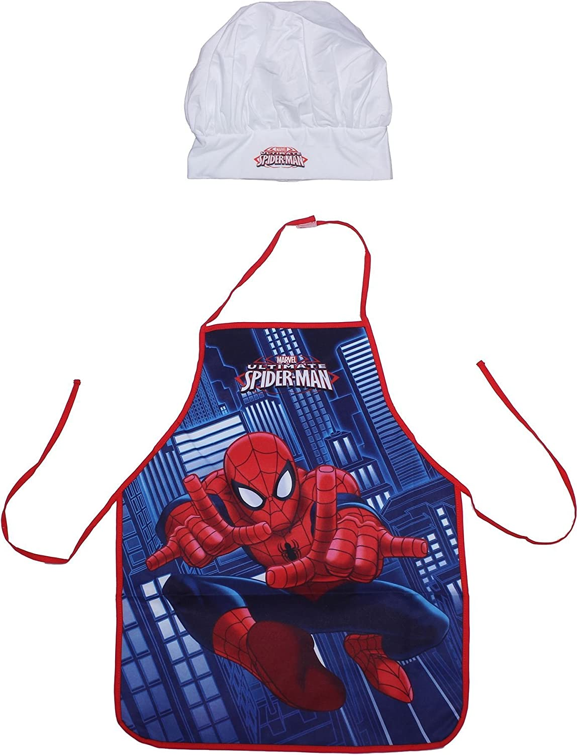 Beta Service Spiderman EL50801 Chef Set of 2, Plastic, Coloured, 15 x 25 x 12 cm