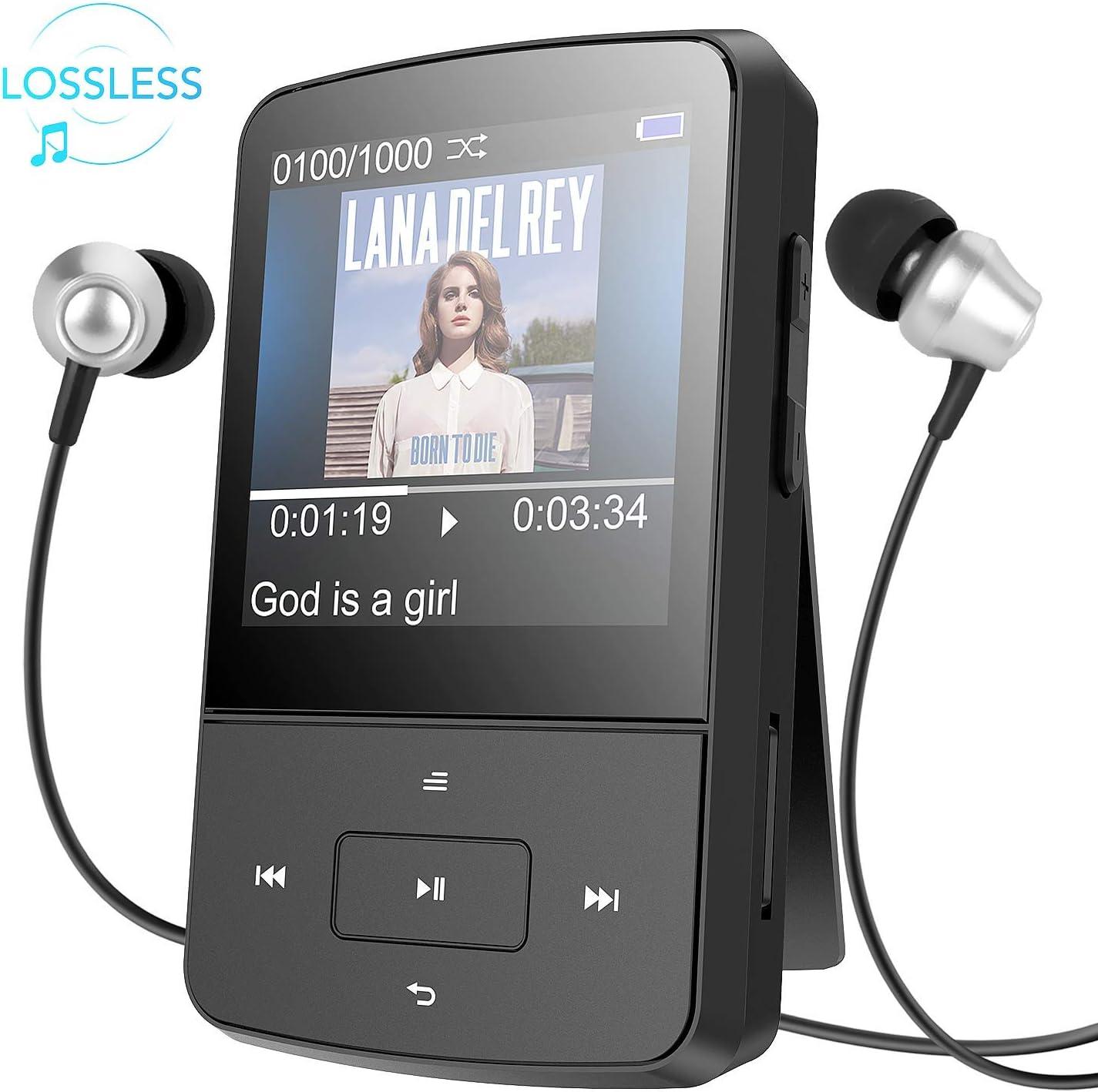 Mp3 Player 8 Gb Mini Clip Mp3 Elektronik