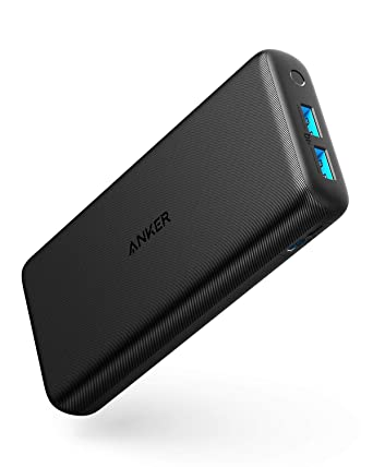 Anker PowerCore Lite 20000mAh Portable Charger, Ultra-High Capacity 4.8A Output Power Bank, External Battery
