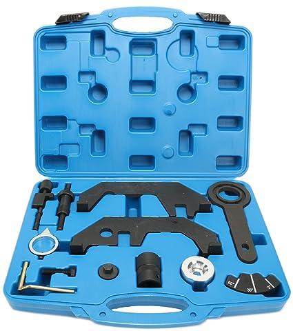 8MILELAKE Camshaft Alignment Engine Extractor/Installer Tool Compatible for  BMW N62/N62TU/N73