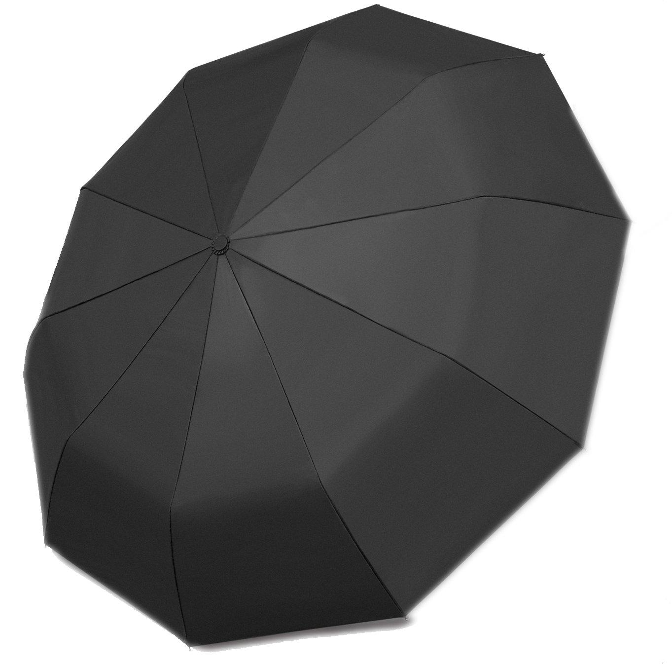 7428790c468e Stormeagle Reinforced 10 Ribs Travel Automatic Umbrellas Auto Open Close  Folding Golf Lightweight Compact Windproof Umbrella, Sturdy Durable  Portable ...