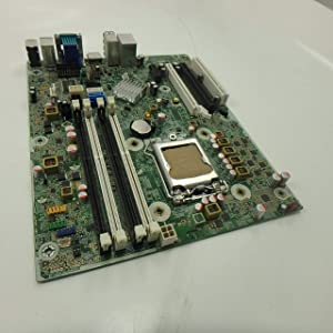 HP 657094-001 System Board (Motherboard) - For Microtower and Small Form Factor Compaq Elite 8300 (Renewed)