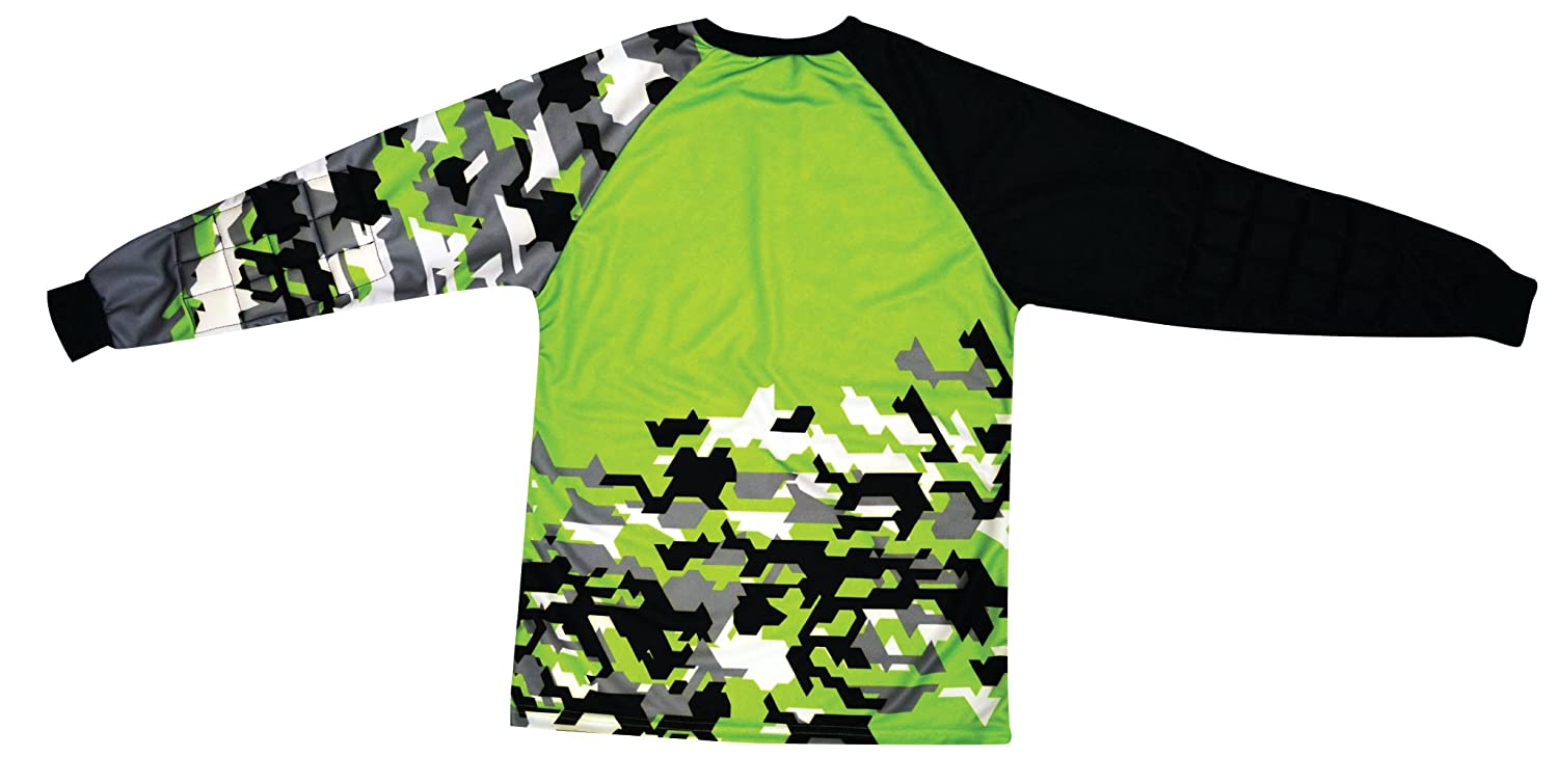 d00200153 Clothing Reusch Adult Camo Soccer Goalkeeper Jersey Size Adult Medium
