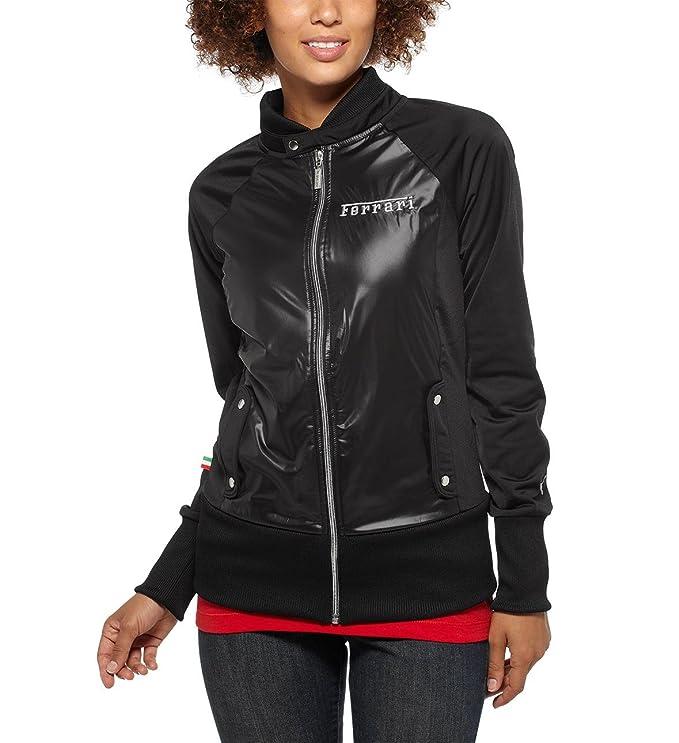 Puma Ferrari de mujer Vintage chaqueta de chándal (563260), negro ...