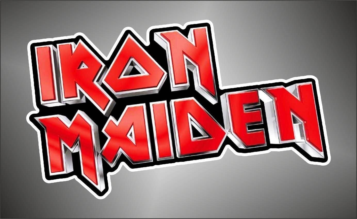 Autocollant Iron Maiden hip hop rap jazz hard rock pop radio