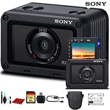 Amazon.com: Cámara digital Sony Cyber-Shot DSC-RX0 II (DSC ...