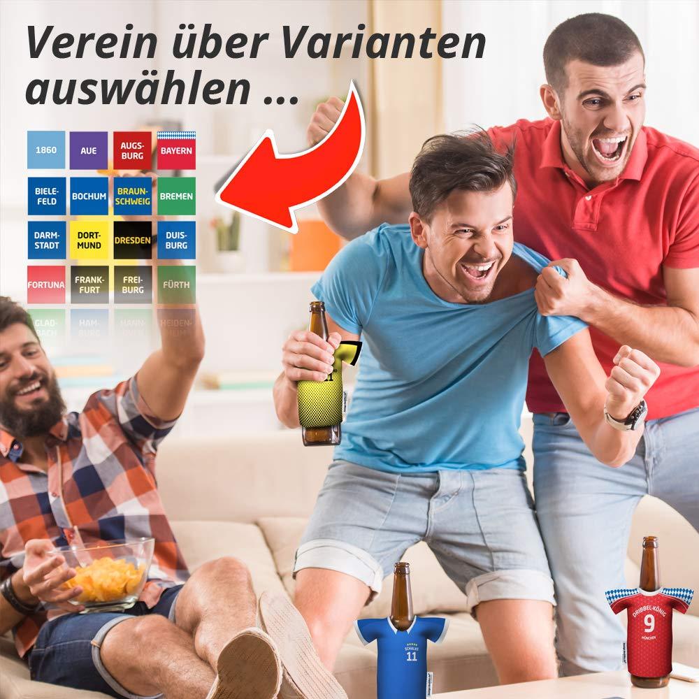 Home-Trikot Herren Bier Flaschenk/ühler /& Fanartikel by ligakakao.de Jedes Spiel Mein Augsburg Trikotk/ühler Jedes Tor Eiskalter Biergenuss Jeden Moment Fan-Edition f/ür Zuhause