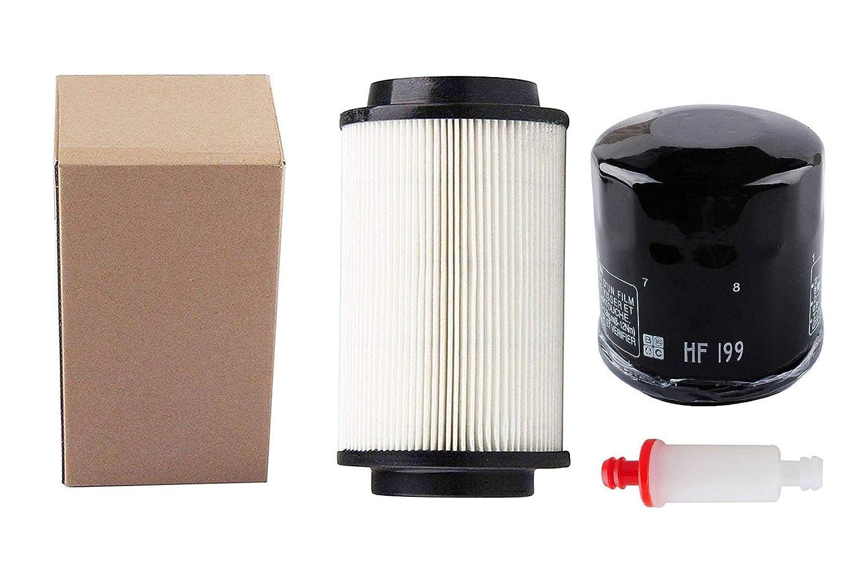 2520799 Oil Filter 7080595 Air filter for Polaris Sportsman 2530009 Inline Fuel Filter Magnum Scrambler 400 500 550 570 600 700 800 850 Trail Blazer 715900422