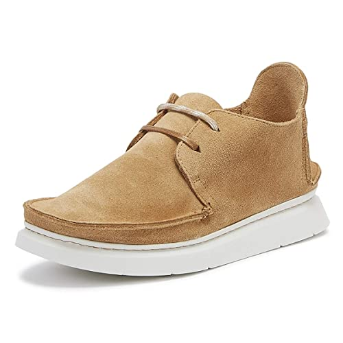 sports shoes 07228 511f0 Clarks Originals Seven Mens Tan Suede Shoes-UK 6   EU 39.5