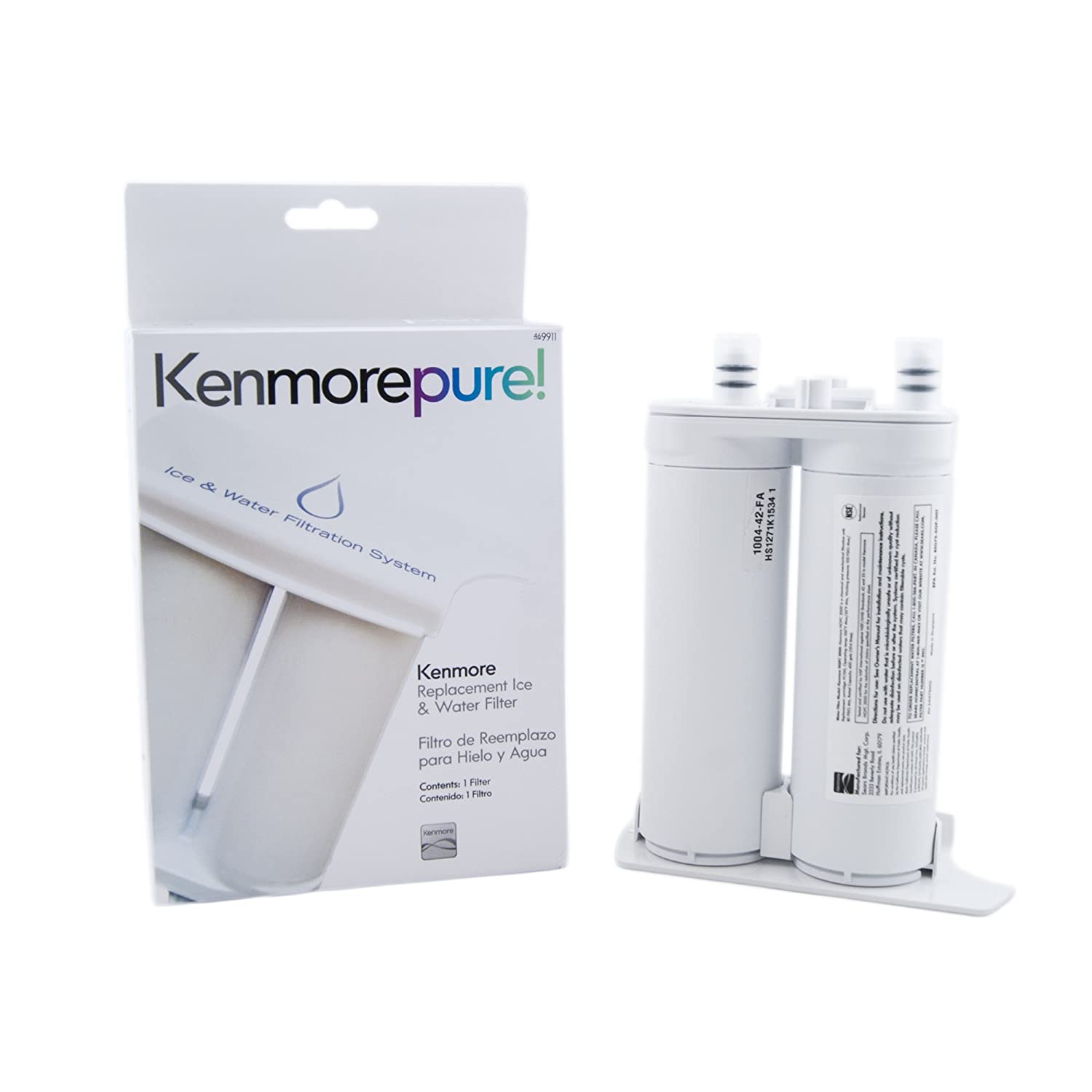 Kenmore 9911 Refrigerator Water Filter, White