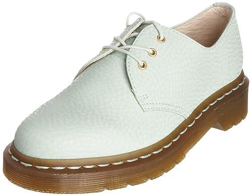 Dr. Martens 10084330 - Mocasines de cuero para mujer, color verde, talla 37: Amazon.es: Zapatos y complementos