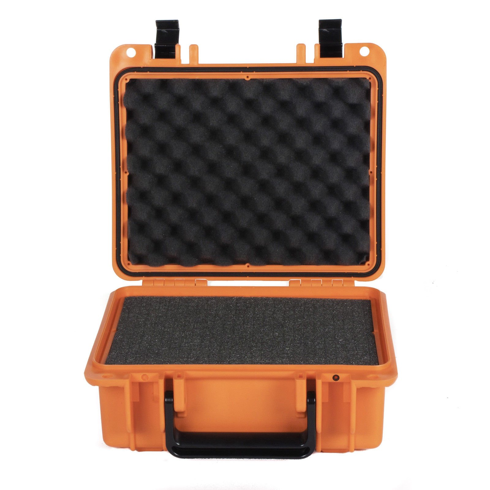 MRT SUPPLY Watertight Protective Equipment Storage Case with Foam, Orange with Ebook