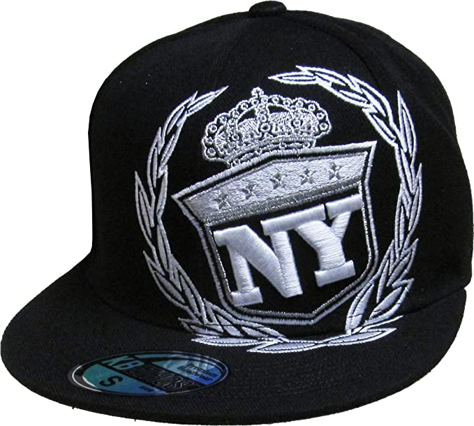 Amazon.com  KBETHOS Authentic NEW YORK CITY Borough Fitted Baseball ... c2bde20a2b0