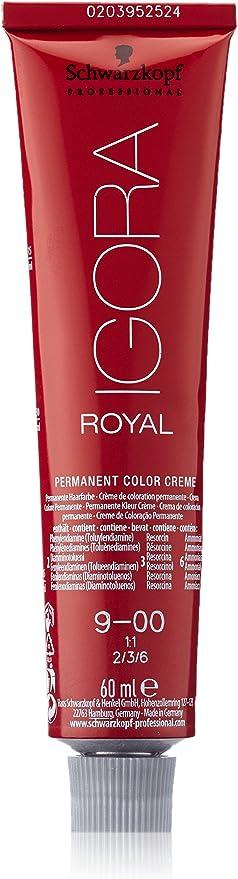 Schwarzkopf Professional Igora Royal 9-00 Tinte - 60 ml